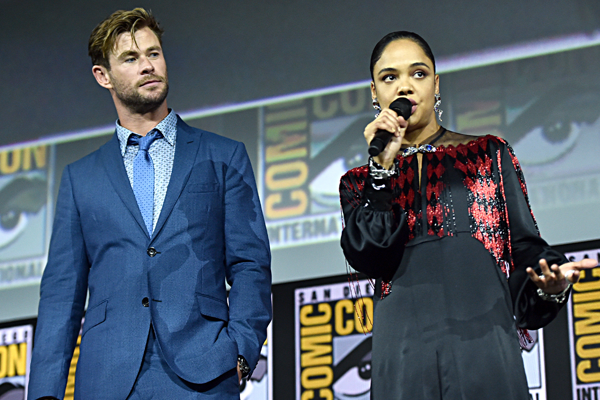 It's Official: Tessa Thompson's Valkyrie Will Be Marvel's First LGBTQ+ Superhero