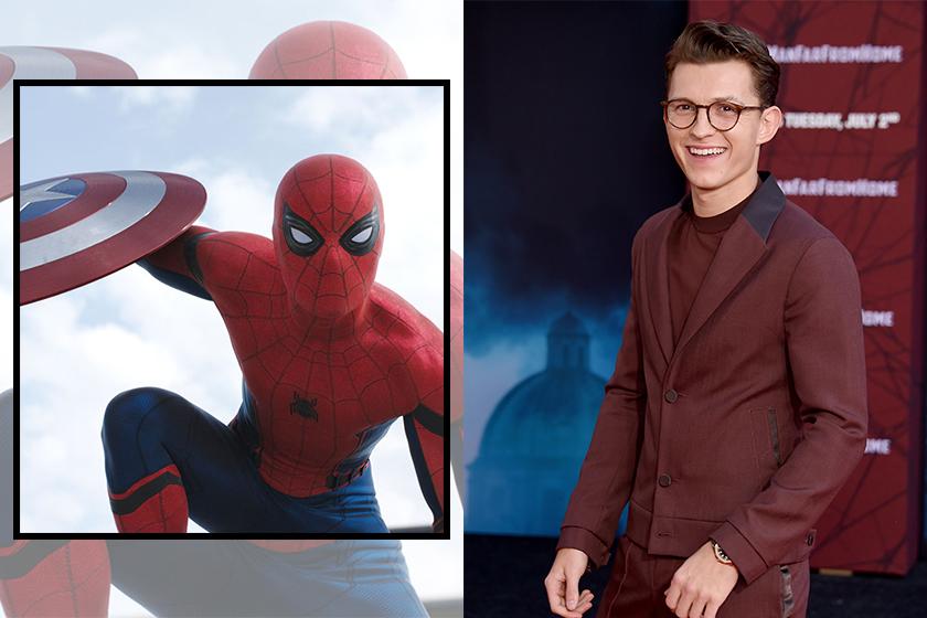 tom holland cast spiderman Chris Evans
