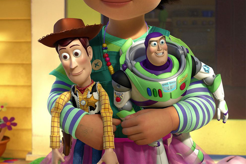 toy story fun facts Woody buzz
