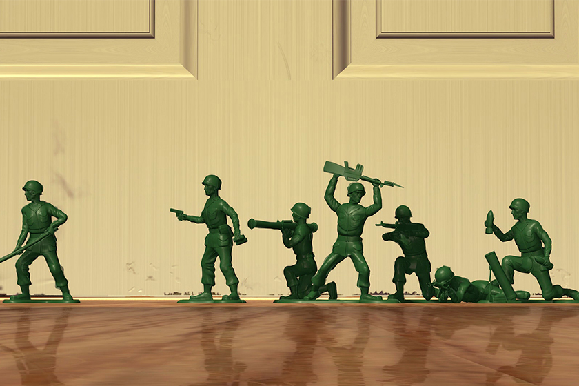toy story fun facts Soldiers