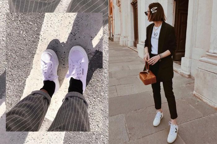 別以為巴黎、倫敦的女生只穿高跟鞋!四大時裝之都最流行的波鞋都如此簡約休閒