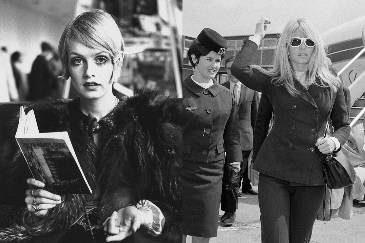 Audrey Hepburn, Brigitte Bardot, Grace Kelly ... 50s 60s airport style