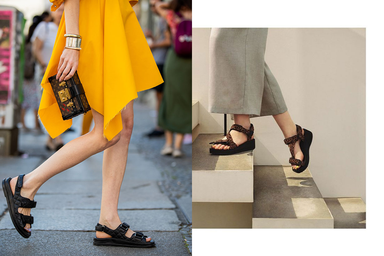 ugly sandals street style 2019