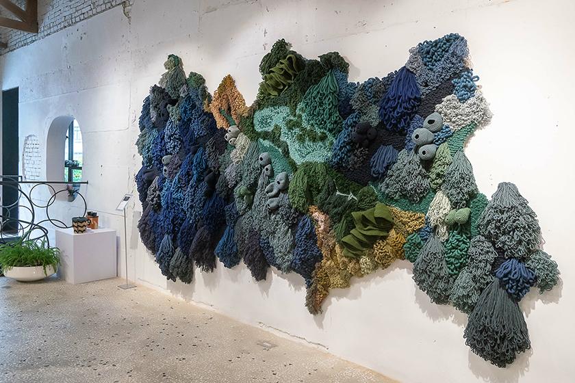 Vanessa Barragão exhibition onefifteen taipei taiwan coral ocean