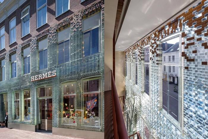 全球最夢幻 Hermès 旗艦店,彷彿被施下咒語變身絕美玻璃水晶屋!