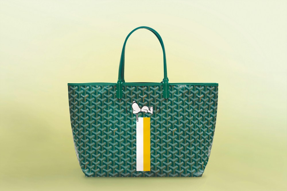 Goyard x Snoopy collection in Japan