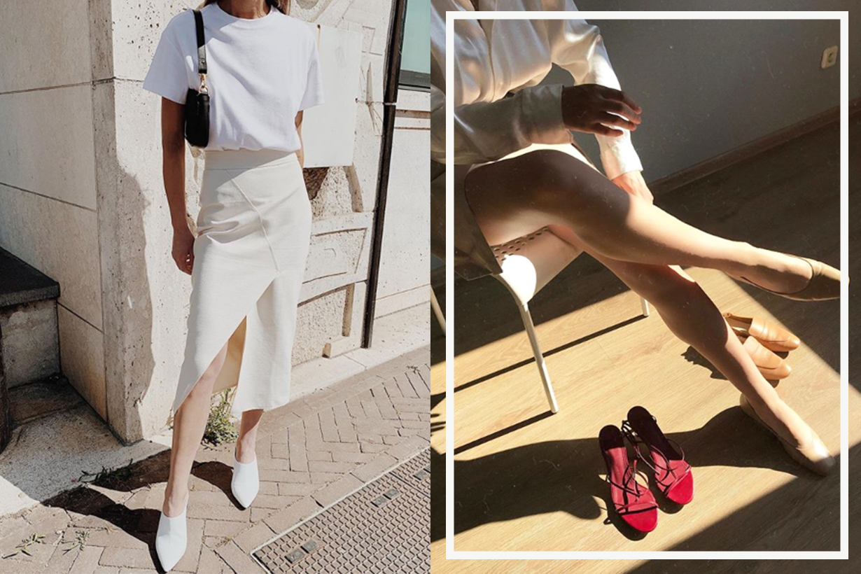 Every Single Fashion Girl Owns a Pair of White Shoes