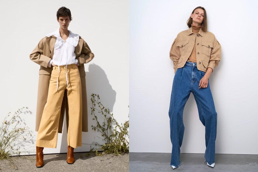 Zara Wide-Cut Legs Jeans