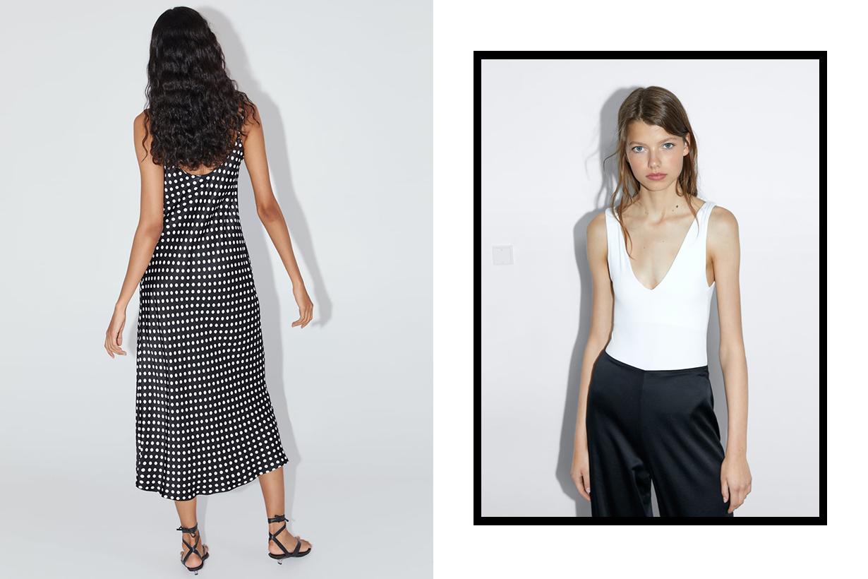 Zara polka dots dress own Instagram account