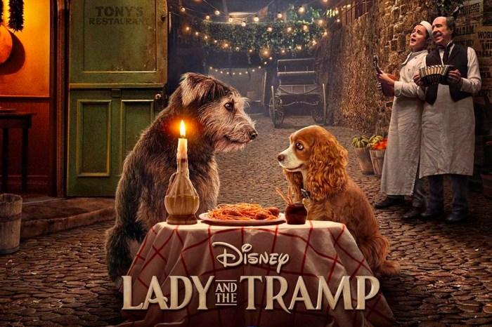 《小姐與流氓》首波預告登場,沒少了最經典浪漫的燭光晚餐場景!
