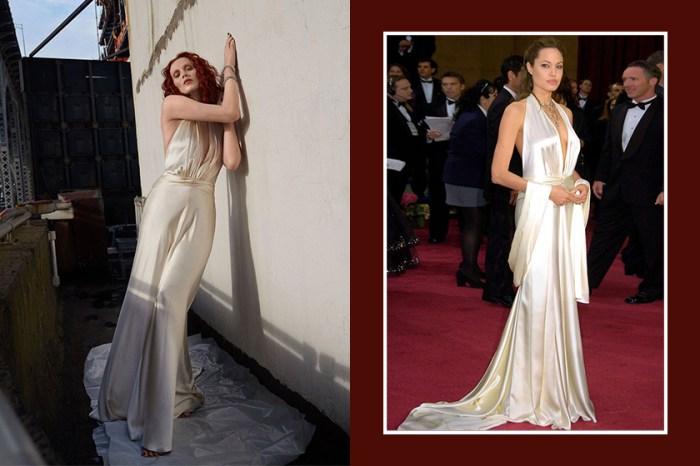 引起熱烈討論:《In Style》邀請超模重新詮釋 25 年來經典的紅毯造型!