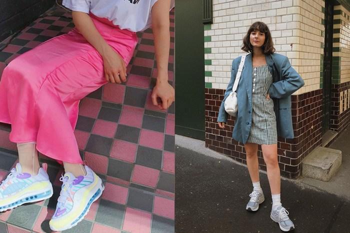 鞋櫃不能少了它們:替你盤點近期大熱的這幾款「粉嫩配色」波鞋!