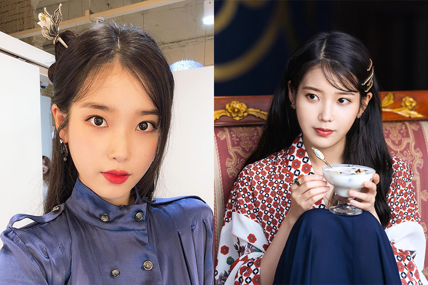 Hotel del Luna IU Earrings GETMEBLING Korea Drama Celebrities Style
