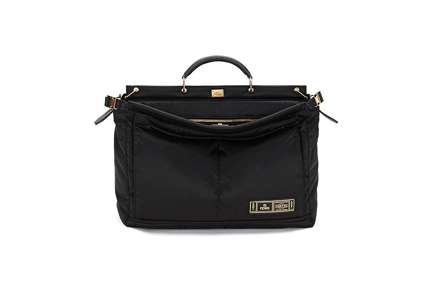 Fendi x Porter Baguette Peekaboo Bag