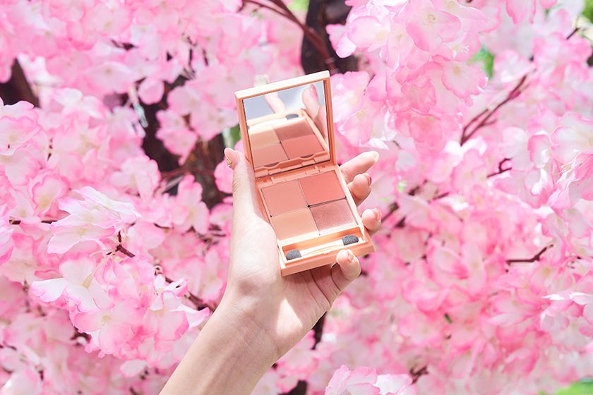 innisfree Jeju Cherry Blossom Tone-up Cream Eyeshadow Palette