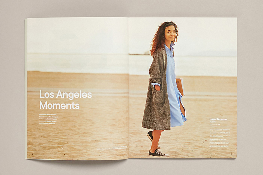 UNIQLO LifeWear magazine