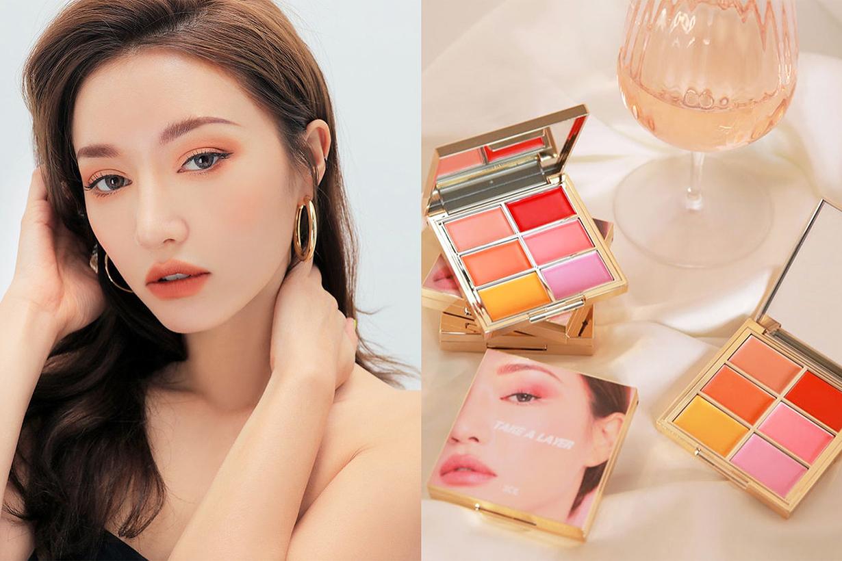 3CE Stylenanda MULTI POT PALETTE  going steady lipsticks blushes eyeshadows palette korean cosmetics makeup Sora Park