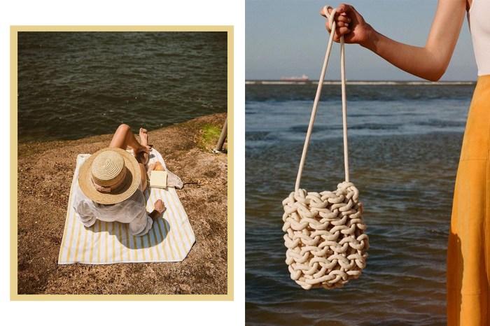 想要自然又隨性的質感?必買小眾品牌的「升級版」漁網包!