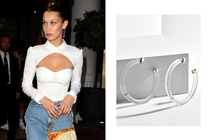 超過 80 件飾品大減價!Bella Hadid 這款復古耳環,竟然只要 $10 美元?
