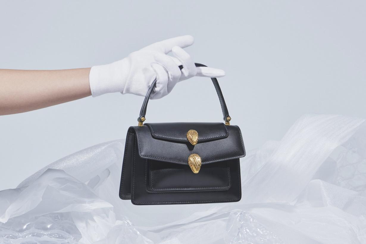 alexander wang bvlgari new york Serpenti collabration handbag