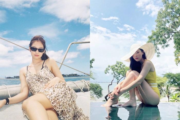 韓媒選「最佳泳衣造型女星」,BLACKPINK Jennie 以這獨特設計突圍而出!