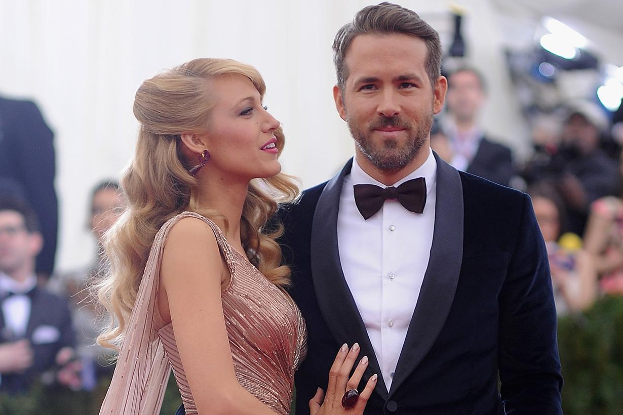 Blake Lively Ryan Reynolds Birthday Instagram candid pictures
