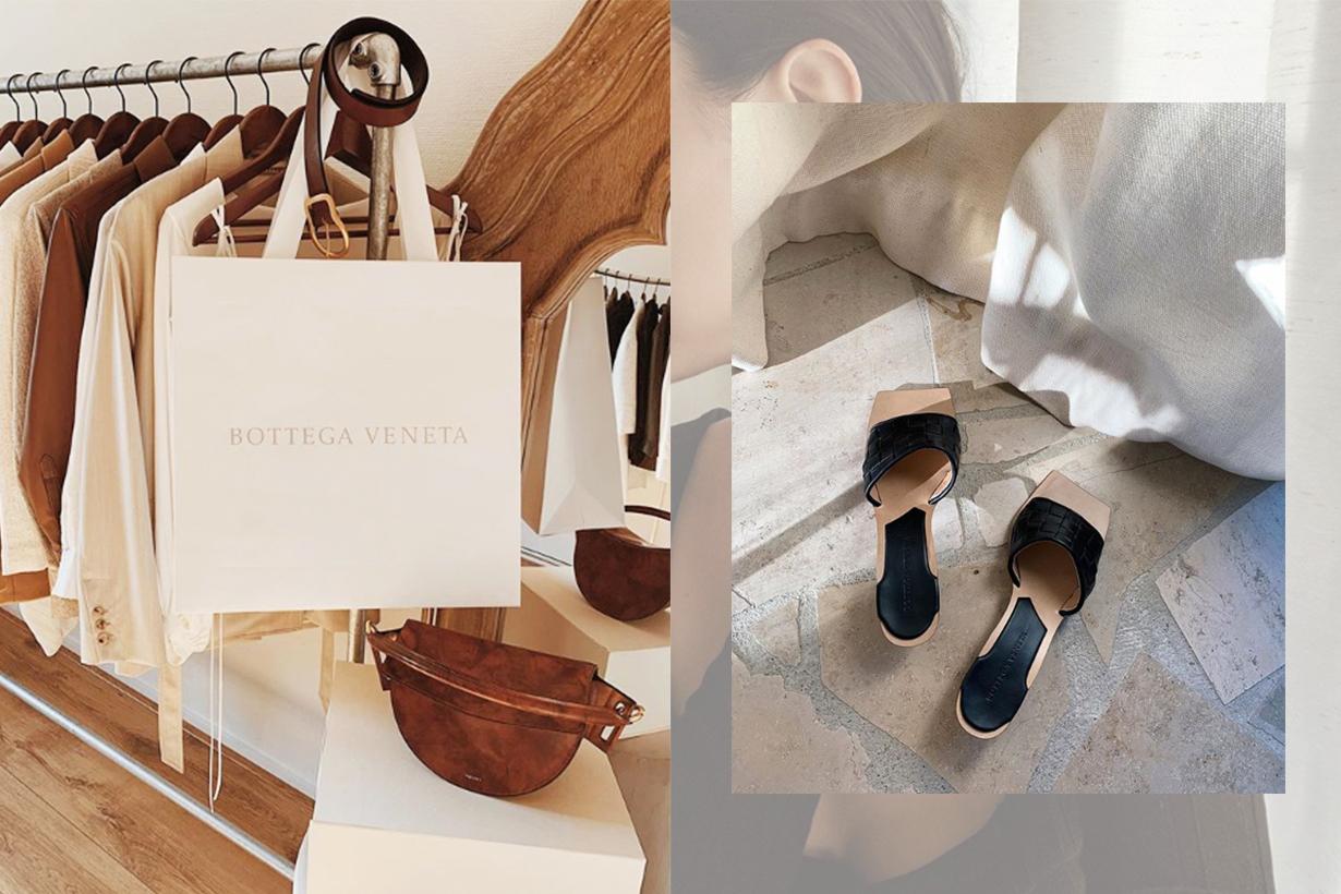 Bottega Veneta's It Item Fondente Belt