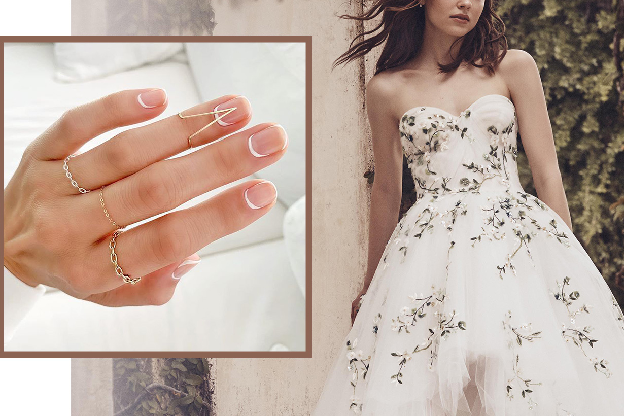 bridal nail art Manicure ideas 2019