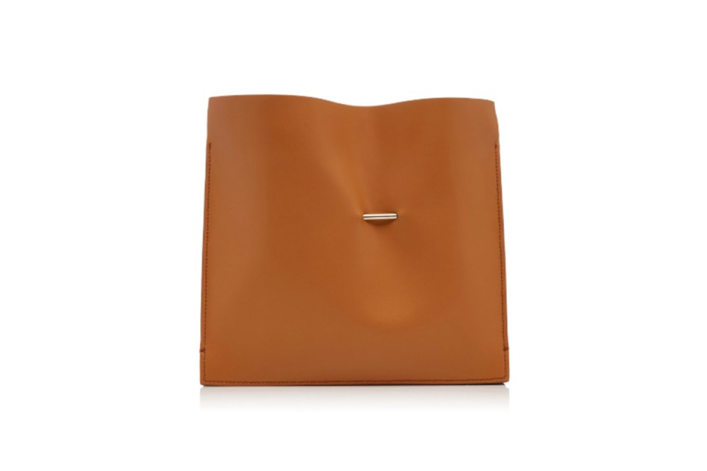 Cabinet Leather Clutch