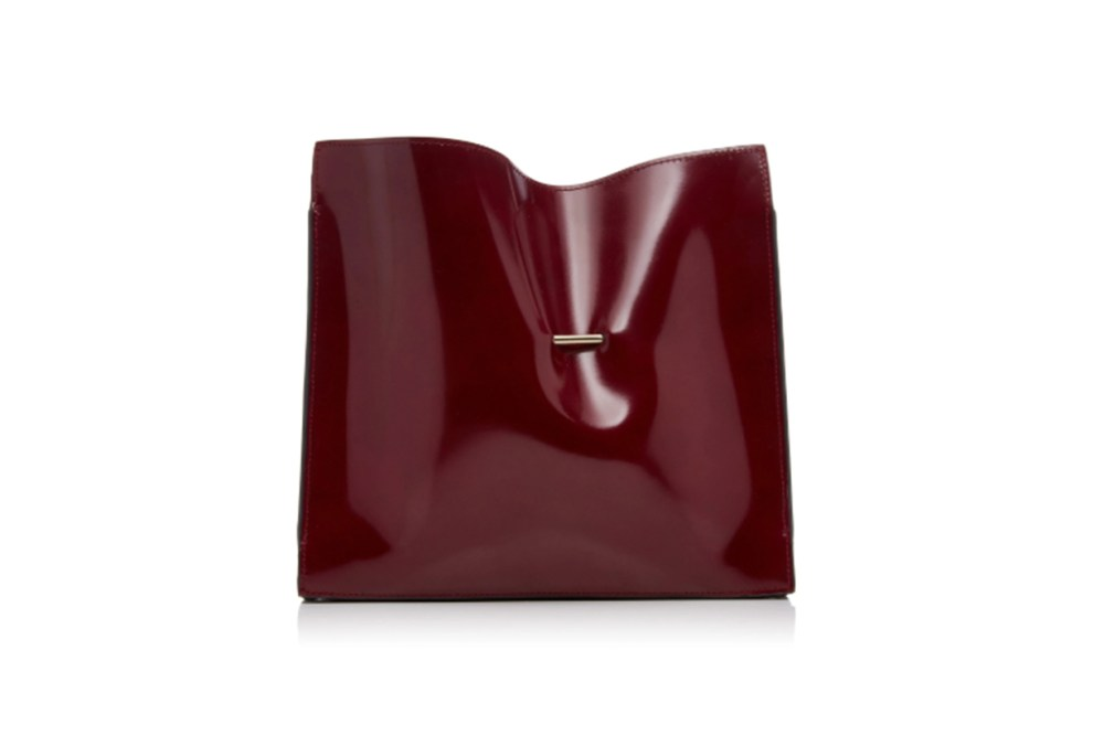 Cabinet Patent Leather Clutch