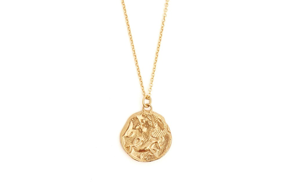 Capricorn Gold-Plated Necklace