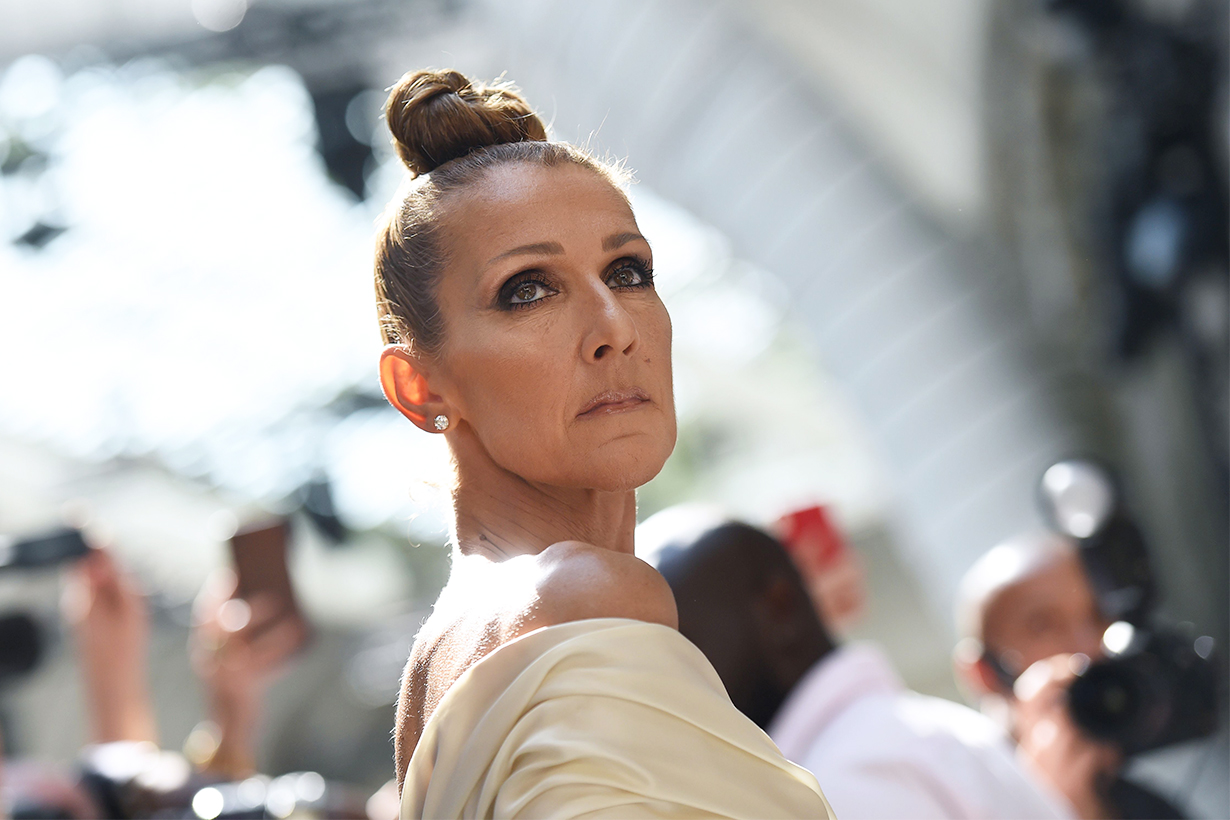Céline Dion titanic my heart with go on L'Oréal Paris Confident 51 years old bullied at school appearance canadian singer