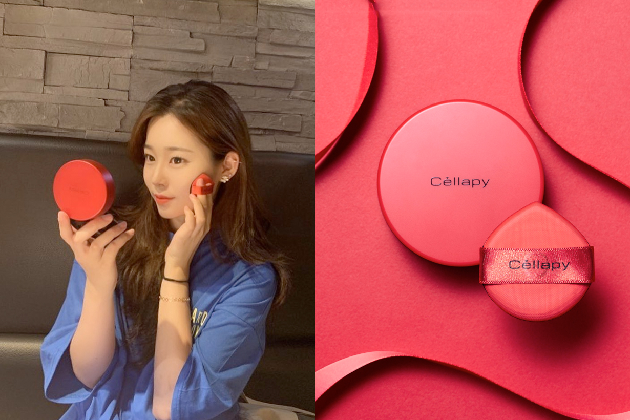 cellapy cushion vibrant puff korea foundation bb
