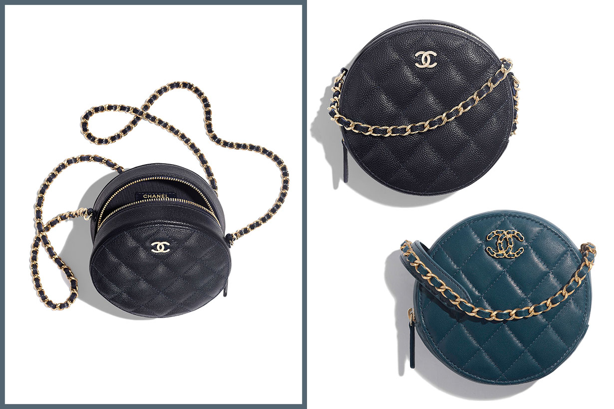 Chanel Fall-Winter 2019 Pre-Collection Clutch With Chain
