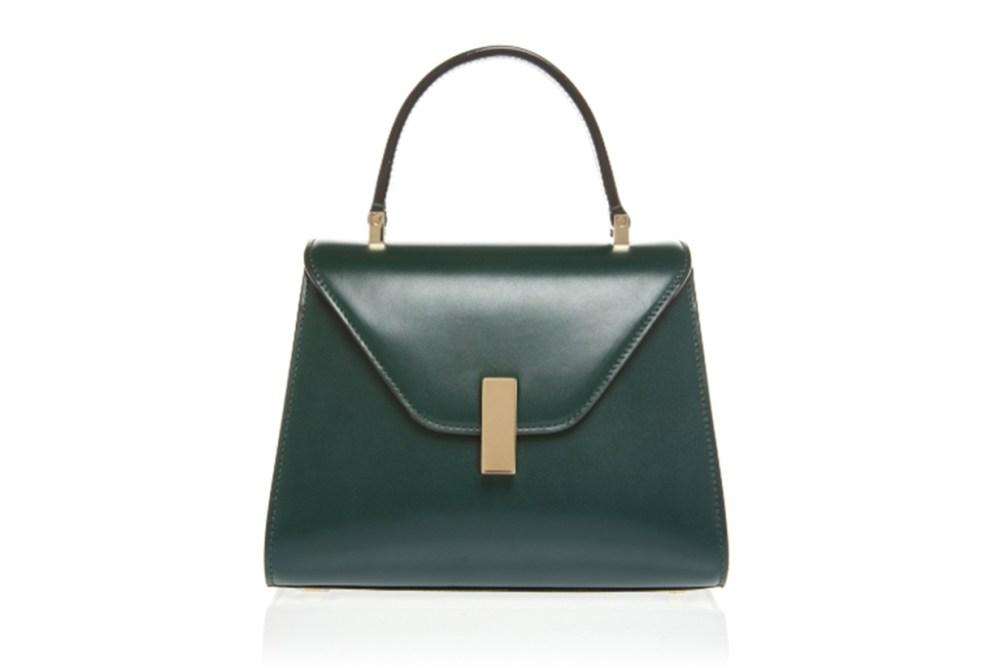 Valextra Mini Iside Leather Bag