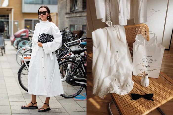 從天橋蔓延至街頭:哥本哈根的女生,都不約而同穿上這款裙子!