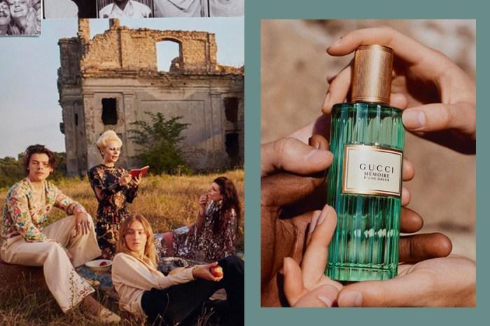 恣意的迷人:Gucci 推出首款「中性香水」,遊走在癲狂與浪漫的復古美學!