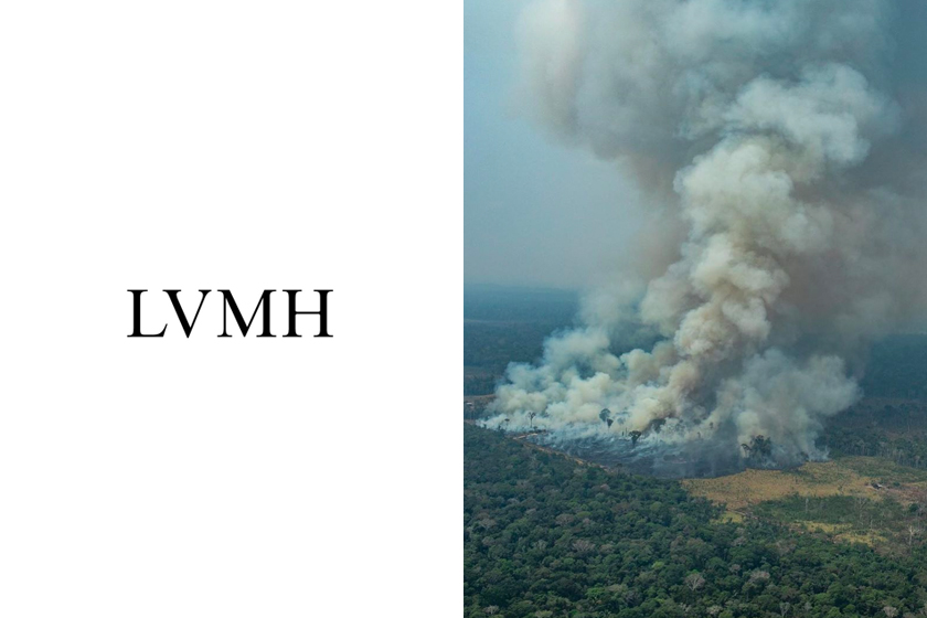 lvmh donates 11 million to fight amazon wildfires