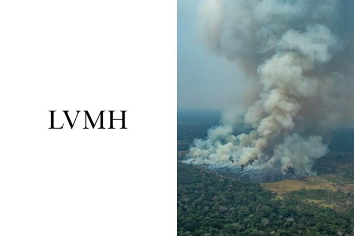繼 Leonardo DiCaprio 後,奢侈集團 LVMH 也宣佈捐贈 1,100 萬美元救助亞馬遜大火!