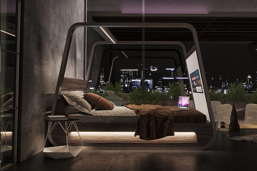 hibed hi interiors smart bed sleep luxurious furniture home technology