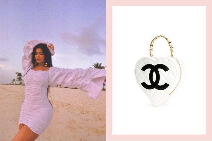罕見的夢幻逸品!Kylie Jenner 曝光的這款 Chanel 心型手袋,到底有多難入手?