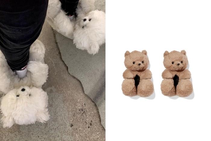 Vetements 這雙泰迪熊「毛絨絨拖鞋」,售價完全令人想像不到!
