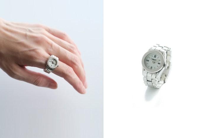 被照縮小燈?日本品牌設計這款「手指錶」,迷你尺寸引起網民討論!