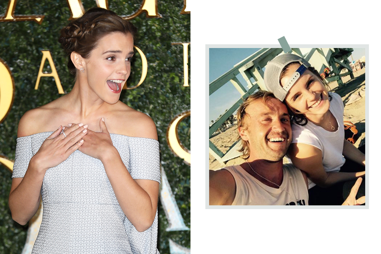 Emma Watson and Tom Felton Pajama Pictures In South Africa