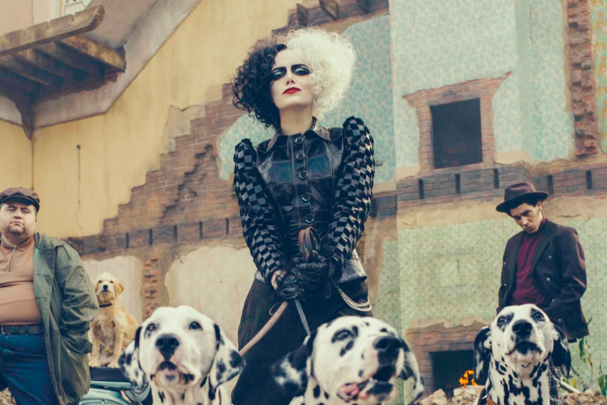 emma stone Cruella disney One Hundred and One Dalmatians reveal villians