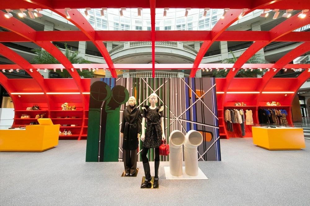 Louis Vuitton pop-up store in Taipei Ballevita