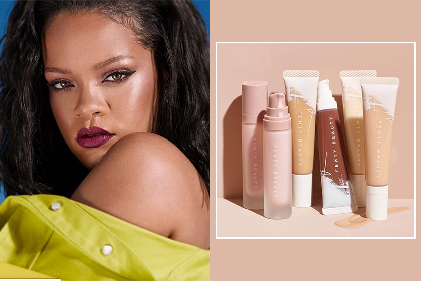 Fenty Beauty By Rihanna new makeup products primer and foundation