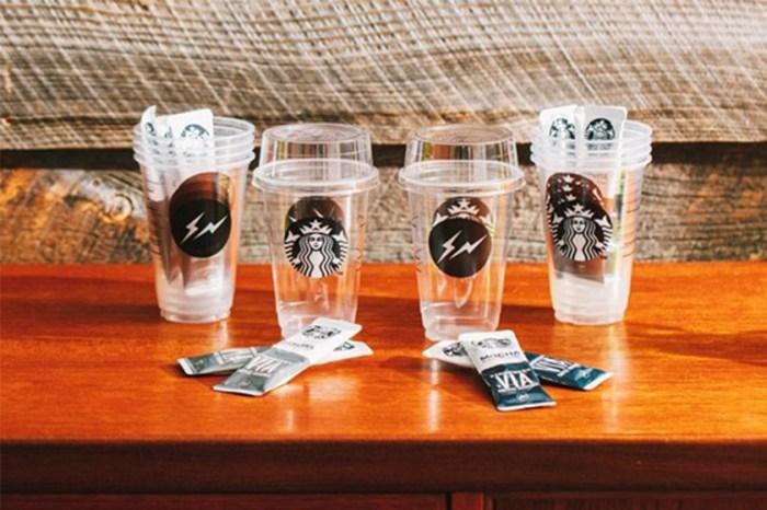 在家也能擁有時尚質感!fragment design 聯乘 Starbucks 推出即沖冰飲咖啡!
