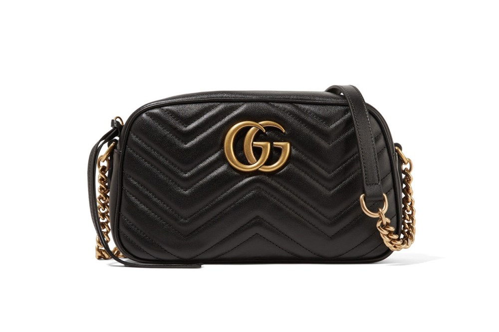 GG Marmont Camera Small Quilted Leather Shoulder Bag