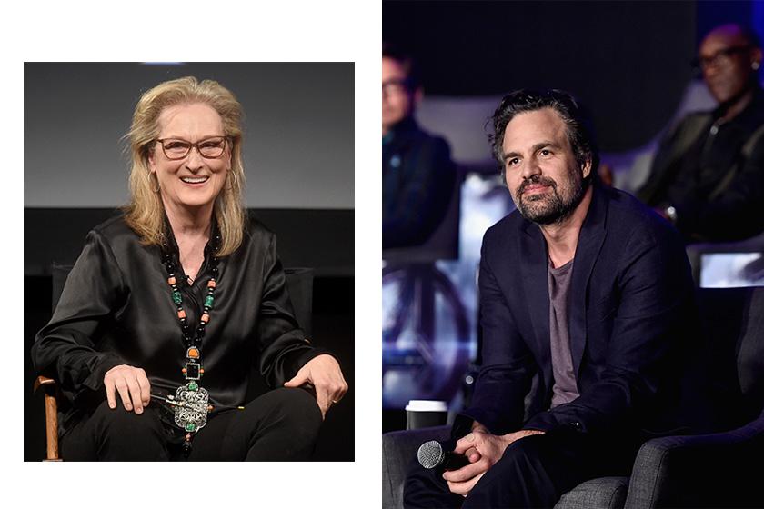 Meryl Streep kiss Mark Ruffalo in the TV show